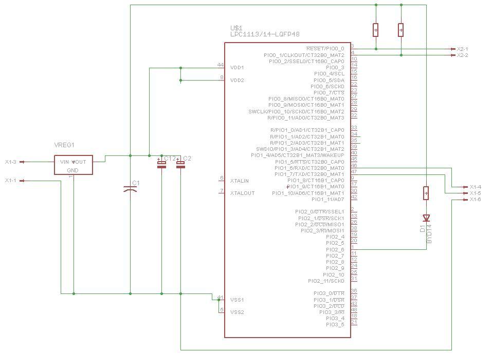 LPC1114/302 - Brak mo�liwo�ci uruchomienia programu