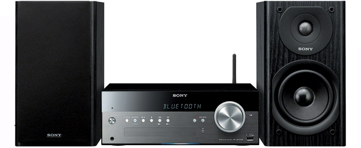 SONY CMT-SBT300W - mini zestaw stereo z Wi-Fi, Bluetooth, NFC, AirPlay