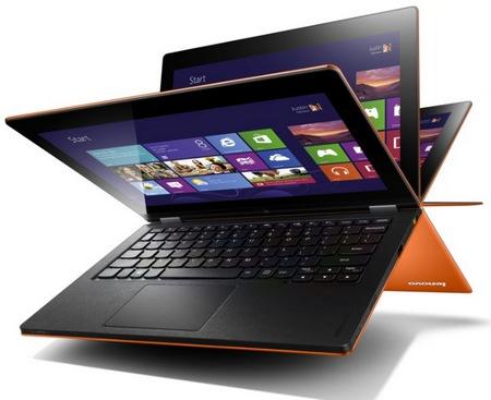 Lenovo IdeaPad Yoga 11 i Yoga 13 - hybrydowe laptopy z Windows 8