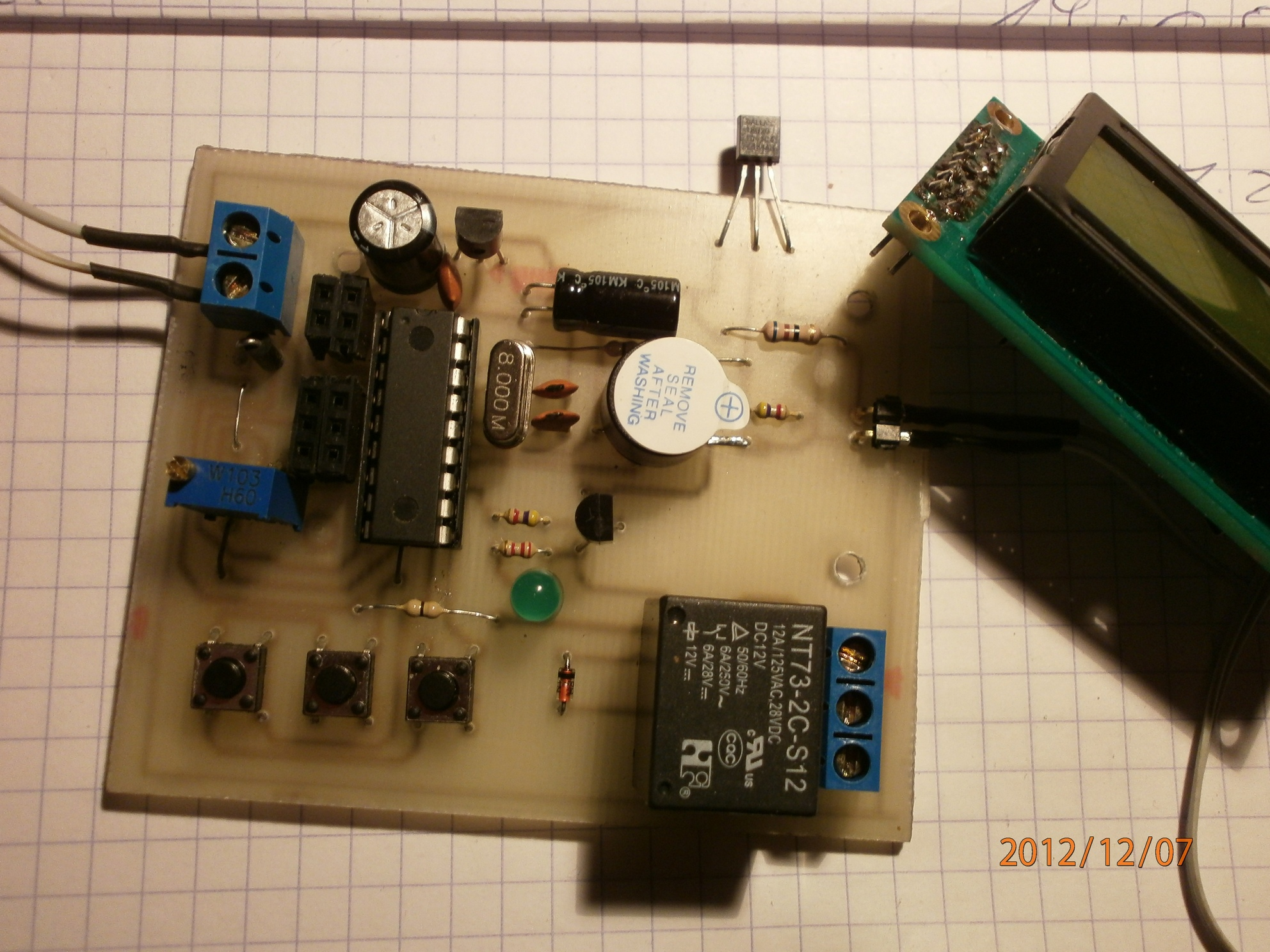 Termostat elektroniczny