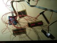 Prosty tester serw z wyświetlaczem.