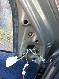 Fiat Albea czujnik temperatury zewnętrznej w lewym lusterku