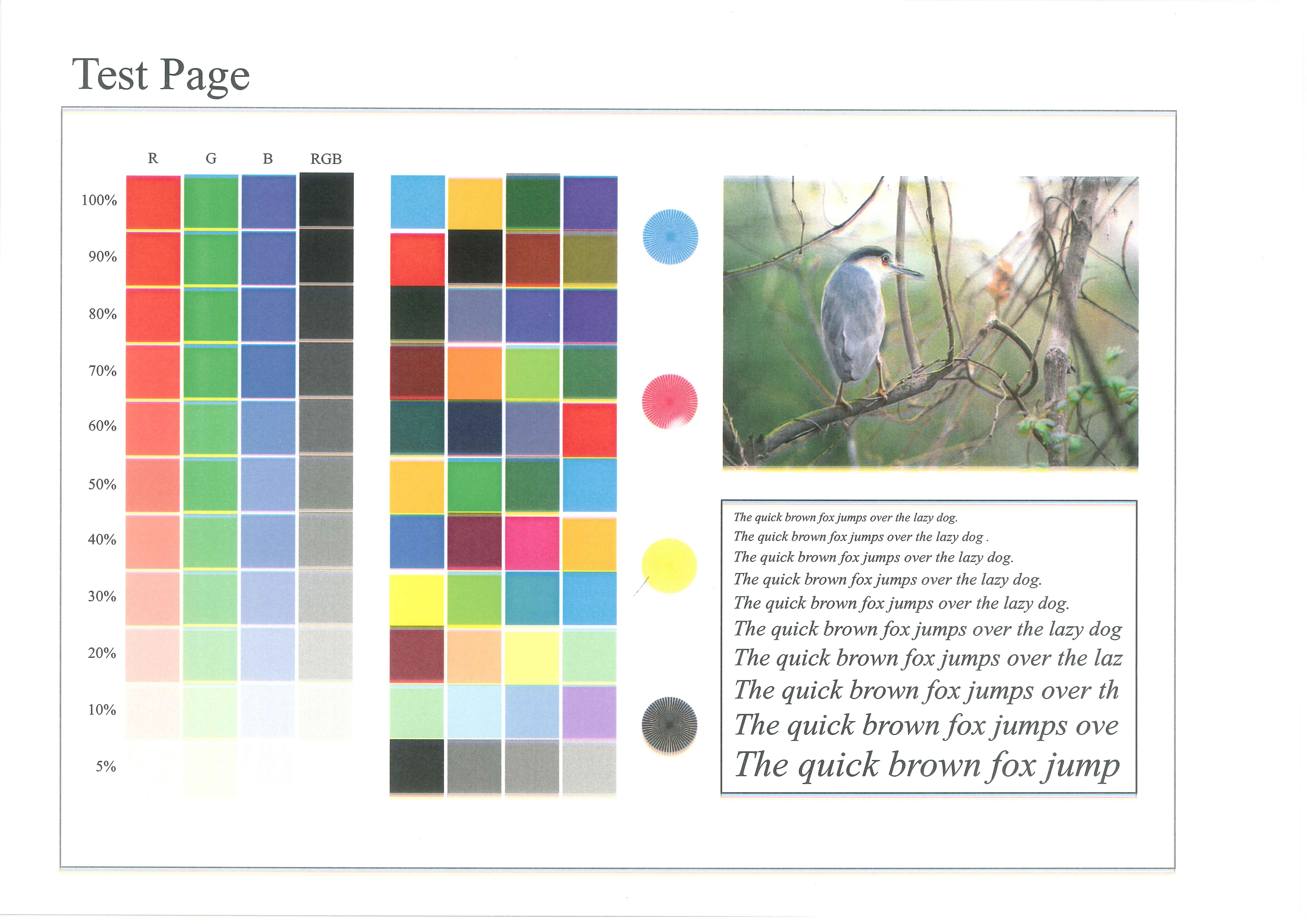Konica Minolta C253 - Rozmazany obraz, nak�adaj�ce si� kolory