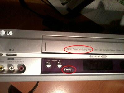 SONY DCR-TRV355E - zgrywanie materia�u z VHS przez kamer�