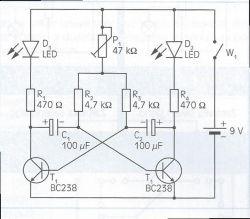Multiwibrator astabilny kłopot z częstotliwością