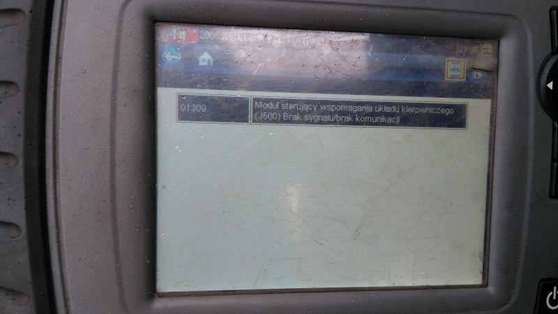 Seat Leon 2 brak wspomagania elektrycznego kompletnie