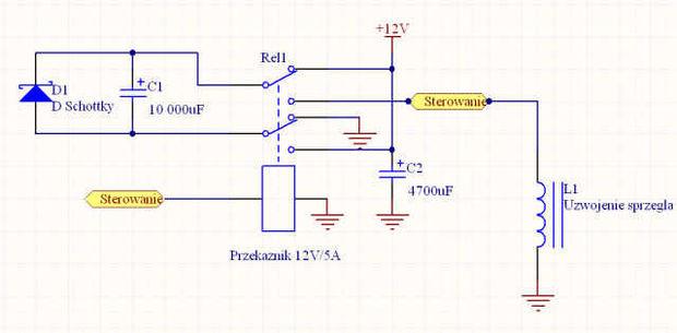 [Zlec�] Wykonanie uk�adu sterowania sprz�g�em elektromagnetycznym.