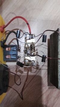 Uszkodzony prostownik, dymią diody prostownicze