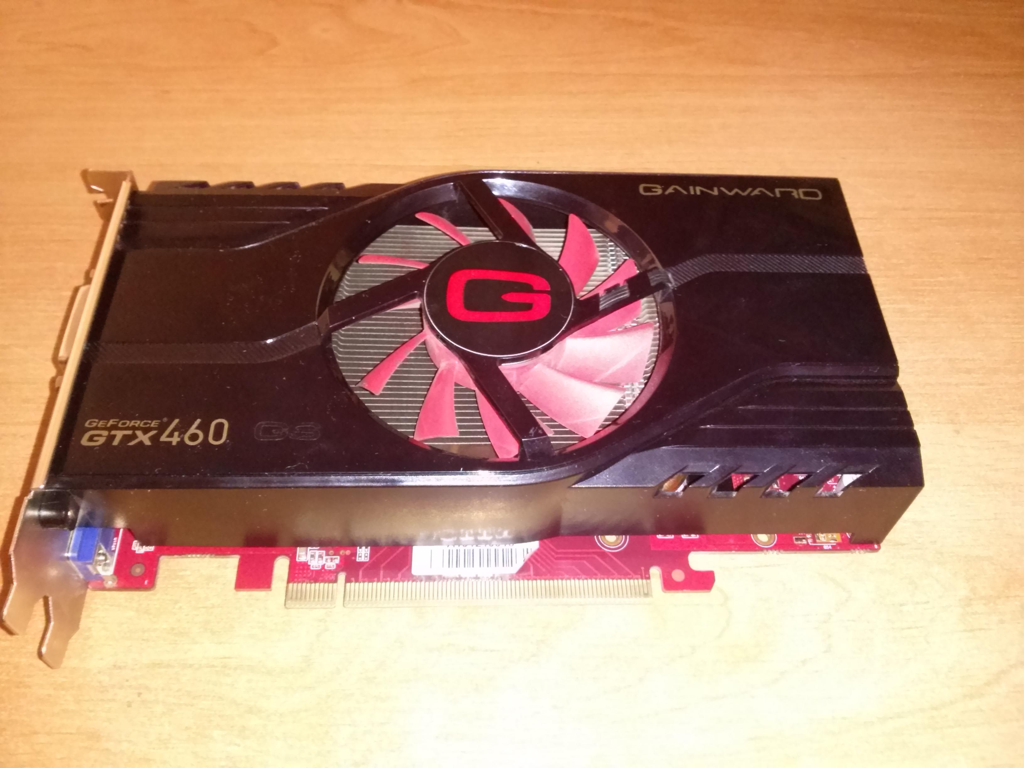 [Sprzedam] Uszkodzona K.Graficzna GTX 460 1GB