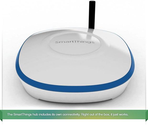 SmartThings jako inteligentne urz�dzenie dla domu