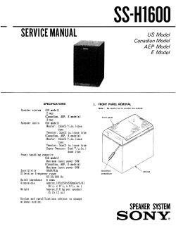 Zestaw dwóch kolumn (kopia Sony SSH-1600) i wzmacniacza stereo na LM3886