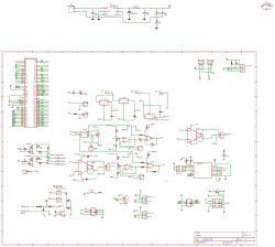 Układ zasilania 24V na symetryczne 15V.