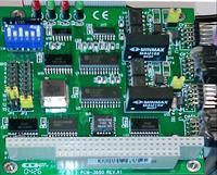 Monitor przemysłowy z ekranem dotykowym obsługiwanym z DOS