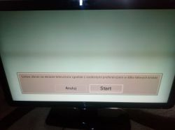 Philips 42PFL5604H/12 - czarny pasek na ekranie/przyciemnienie obrazu.