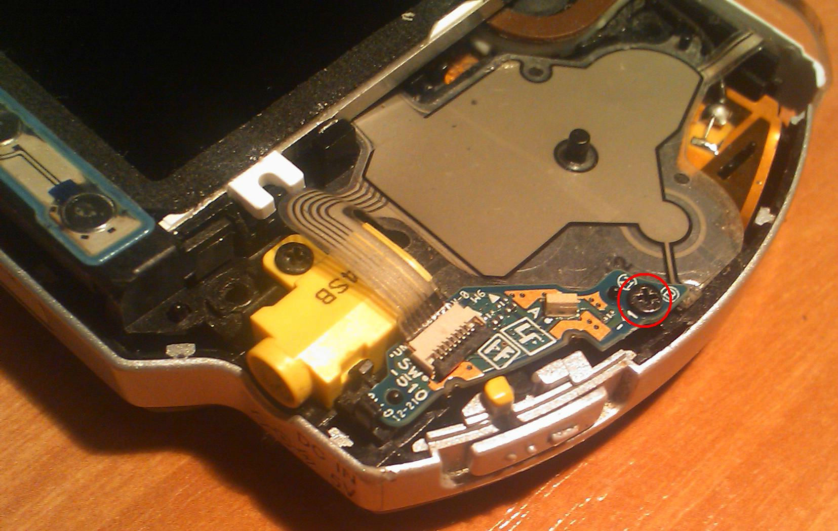 Poradnik - jak sprawdzi� suwak POWER w PSP Slim