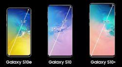 Nowe Samsung Galaxy S10, S10+, S10e, S10 5G z Snapdragonem 855 lub Exynos 9820