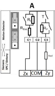 Satel Integra + czujka ruchu Vanderbilt (Siemens) PDM-IXA12T