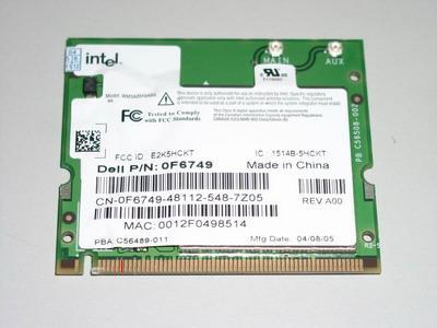 Karta WiFi wewnętrzna do laptopa na złącze Mini PCI