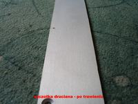 Szczotkowane aluminium domowym sposobem na obudowę do GC