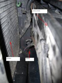 Czujnik temperartury na zewnątrz VOLVO V40