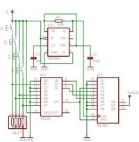 szukam czterokanałowy schemat sterujący nadajnik/odbiornik