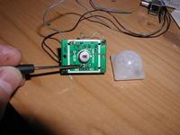 Czujnik ruchu (HC-SR501) sterujący listwą LED