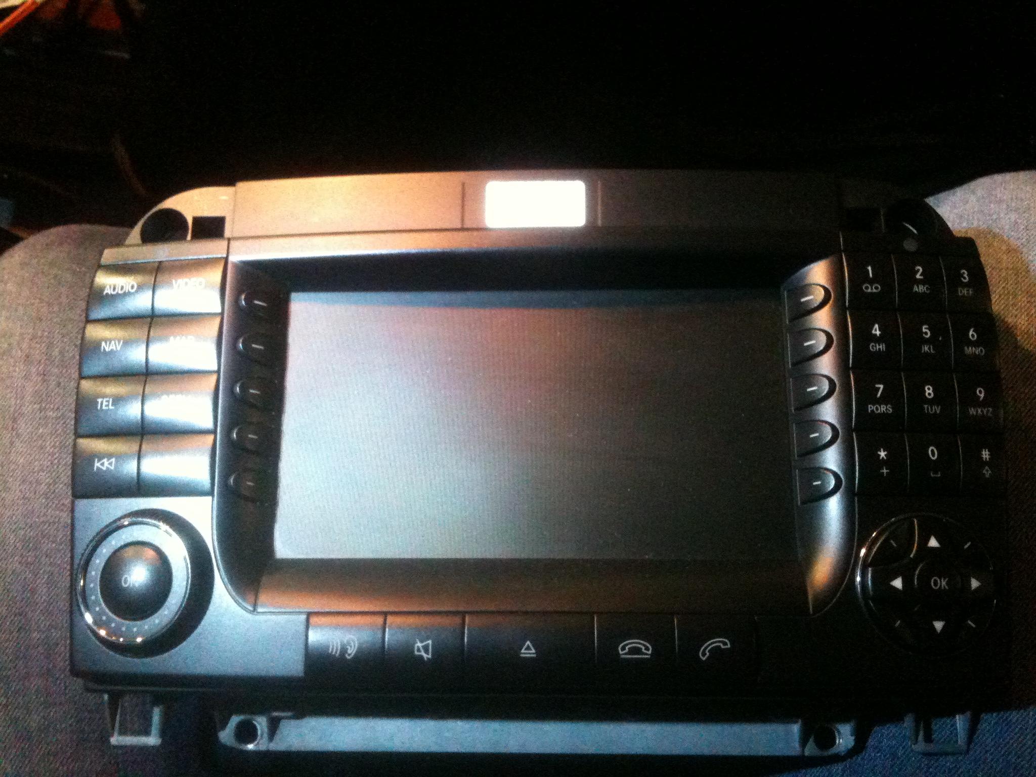 Mercedes W220 - Pod�aczenie kamery cofania NTG1.