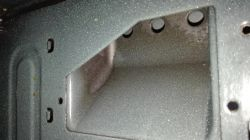 Mikrofalówka Samsung FW213G001 - iskrzy