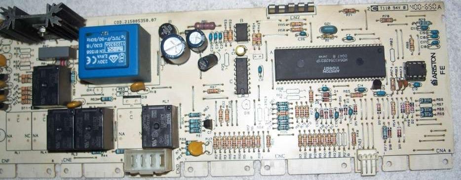 Ariston ALS109XEU - kod b��du F03 - gdzie szuka� termistora NTC?