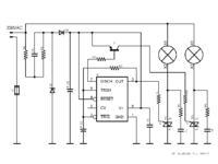 Impulsator/przerywacz żarówek 230V
