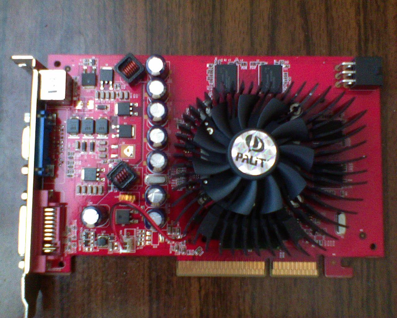 [Sprzedam] Karta Graficzna PALIT GF 7300GT DDR3 256MB/128BIT SONIC OC + Gwar.