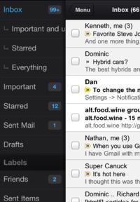Aplikacja dost�powa Gmail dla iOS