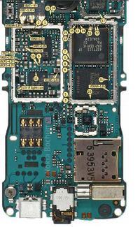 Nokia 6300 Wymiana procesora i pami�ci