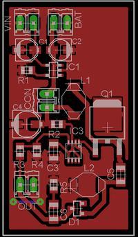 Układ zasilania urządzenia mobilnego z baterii telefonu + ładowarka