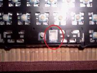 Laptop Asus K50IJ Zalana Klawiatura