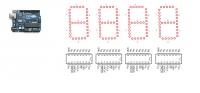 Chciałbym zrobić zegar 7-segmentowy na diodach LED
