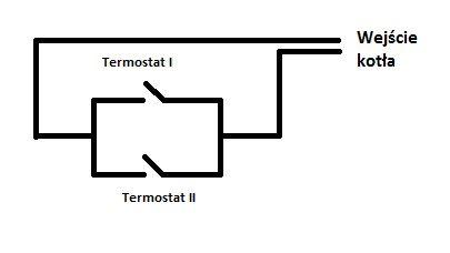 Pompa Ciepła - termostat uruchamiający kocioł