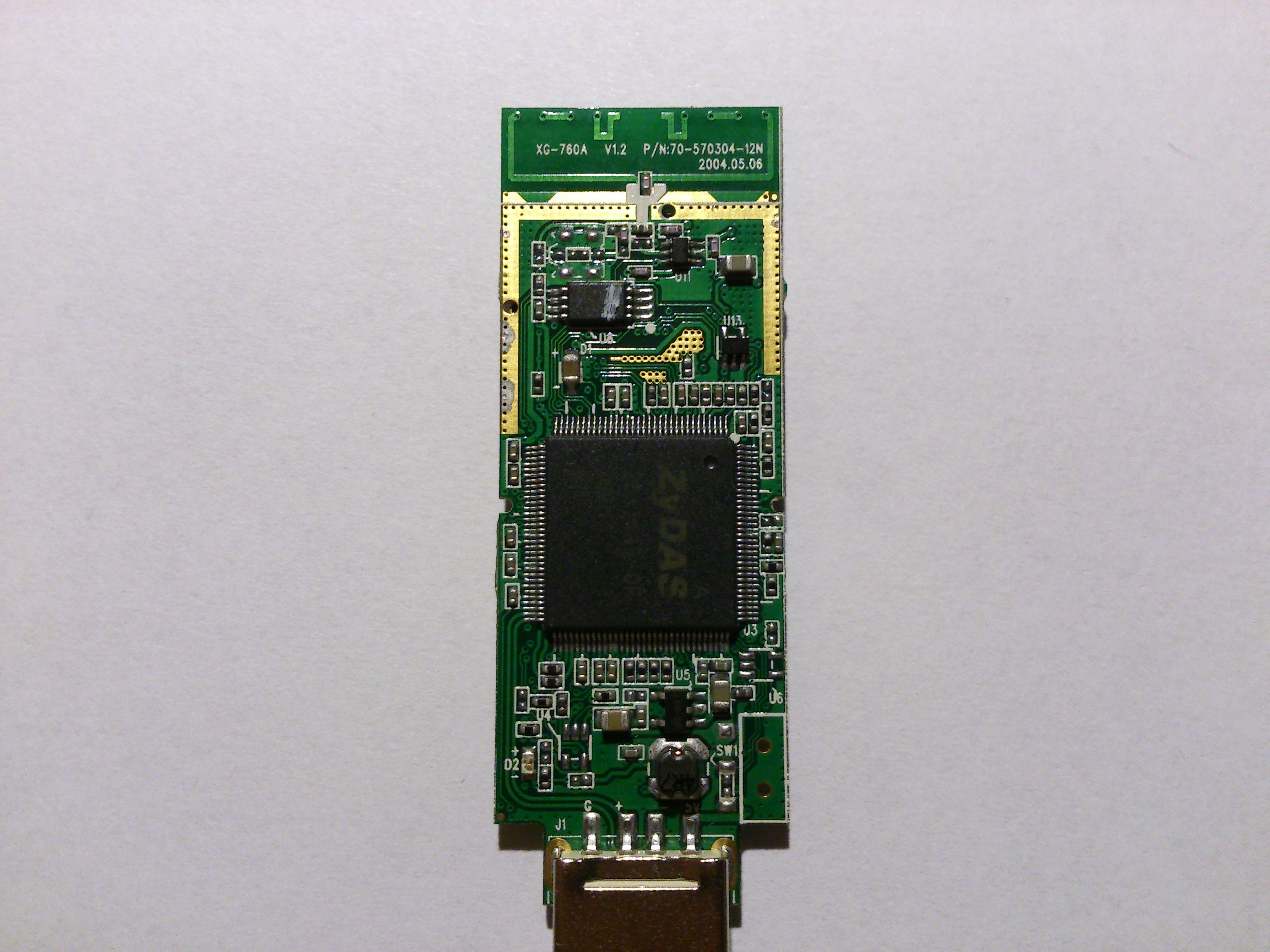 Sagem XG-760N dodanie antenki zewn�trznej.