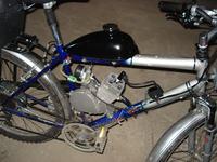 Chiński silnik rowerowy - Brak modułu zapłonu.