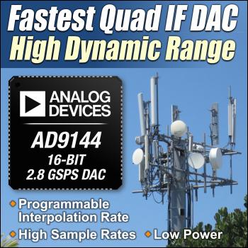 Analog Devices AD9144 - 16-bitowy przetwornik C/A o szybko�ci 2,8 GS/s