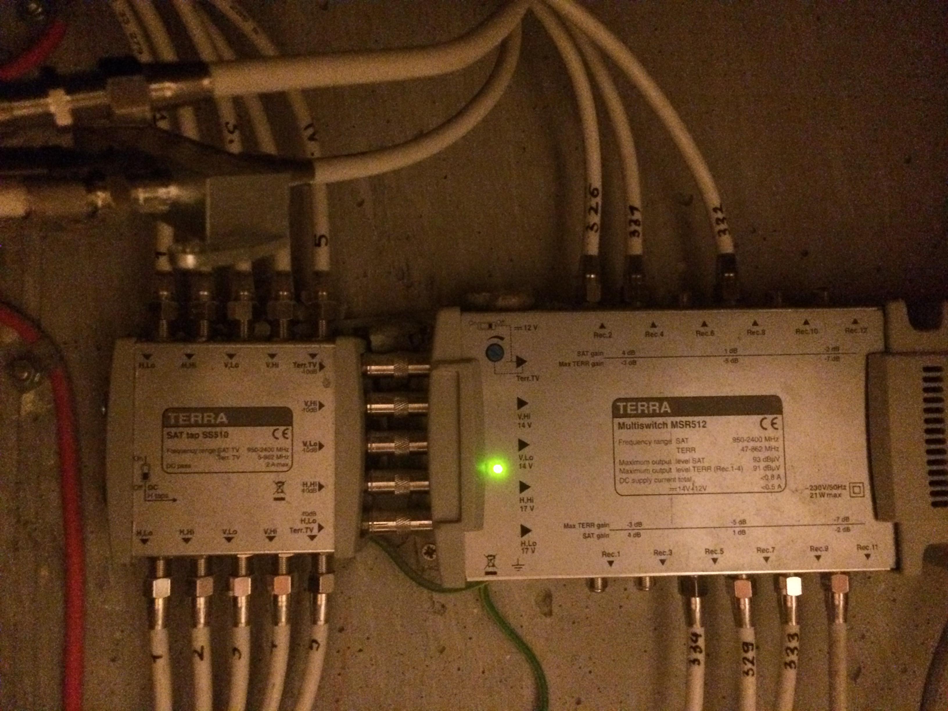 Philips NC+ - Zanikajacy sygnal anteny