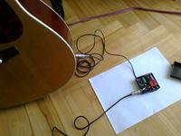Preamp do piezo - prosty i dla każdego, kto chce nagłośnić gitarę akustyczną