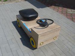 Samochodzik elektryczny DIY dla dziecka i nie tylko - projekt