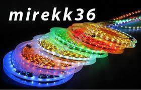 Witrynka RGB - ATtiny2313 - ta�my LED - profile alu