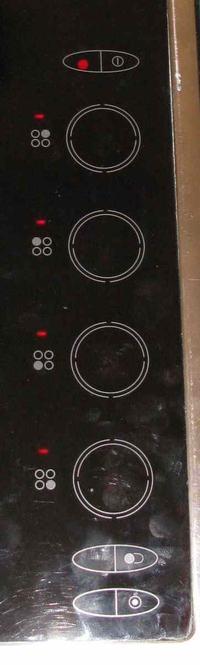 Neff T1342NO - Płyta ceramiczna magnetyczne sensory jak załączyć