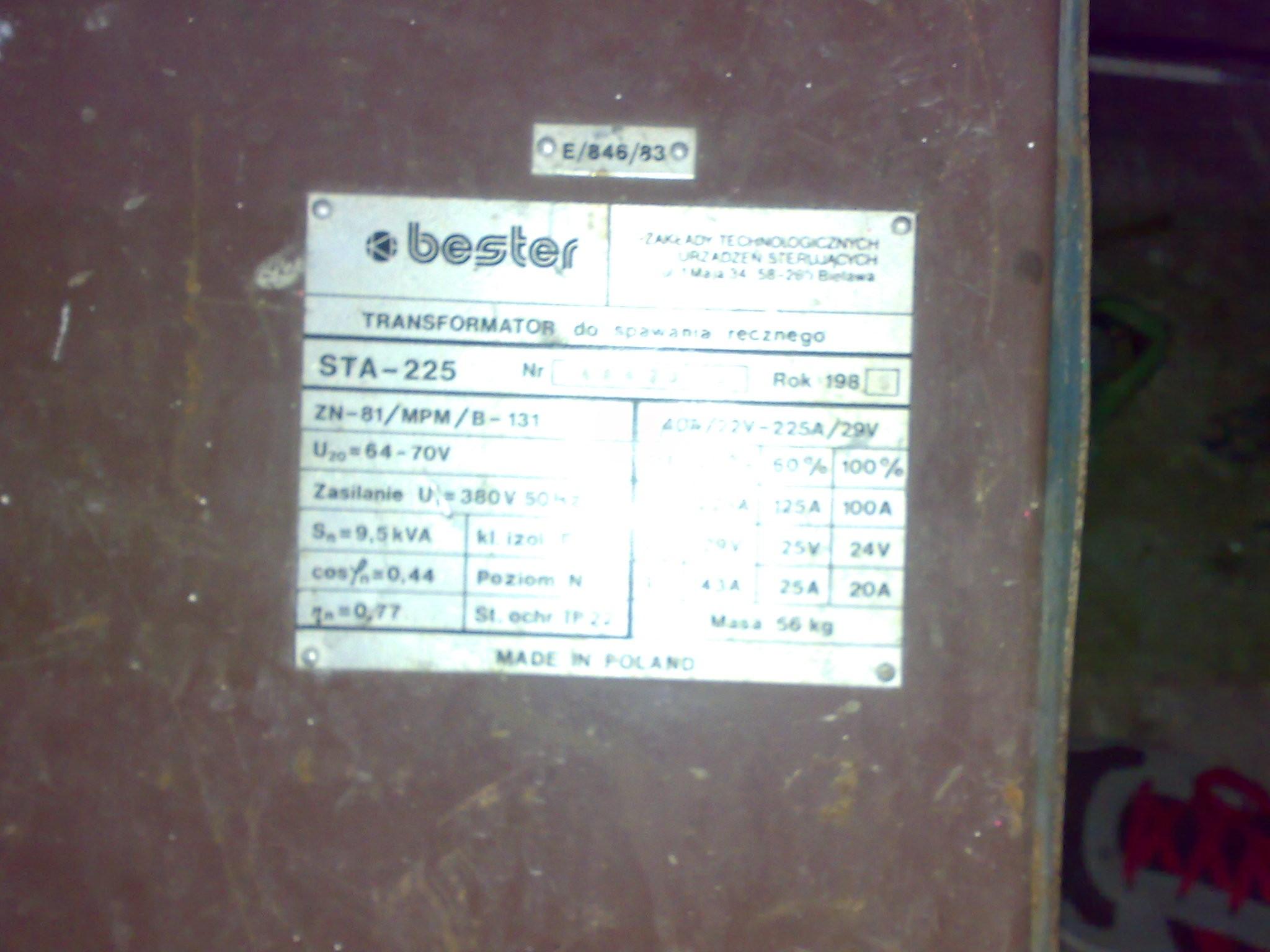 Bester STA225-Czy mo�na doda� funkcj� tig-a?