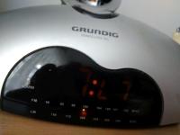 Radiobudzik GRUNDIG SONOCLOCK 50L - nie wyświetla godziny