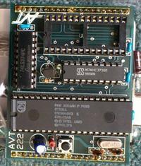 [Sprzedam] Mini moduł 8051 AVT-222 - płytka+opis+części