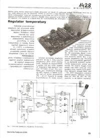 Regulacja prędkości gąsienic joystickiem przód, tył