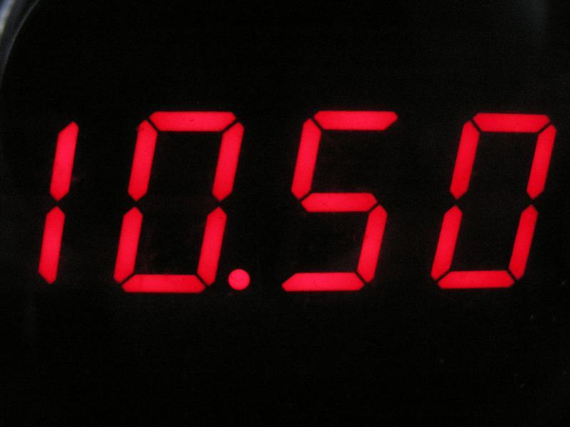 Zegarek do kuchni z ATmega8